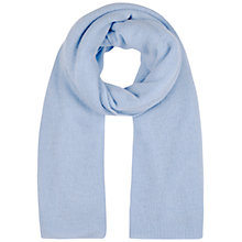 Buy Winser London Cashmere Wrap, Chambray Blue Online at johnlewis.com