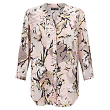 Buy Gerry Weber Printed Blouse, Rose/Taupe Online at johnlewis.com