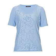 Buy Betty Barclay T-Shirt, Frost Blue Online at johnlewis.com