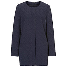 Buy Betty Barclay Textured Jacket, Navy Blue Online at johnlewis.com