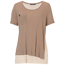 Buy Betty Barclay Layered T-Shirt, Taupe/Beige Online at johnlewis.com