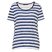 Buy Betty Barclay Striped Top, Navy/White Online at johnlewis.com