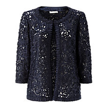 Buy Jacques Vert Cornelli Jacket, Navy Online at johnlewis.com