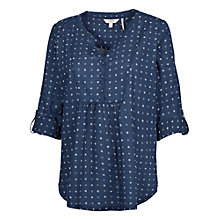 Buy Fat Face Juniper Geo Popover Blouse Online at johnlewis.com
