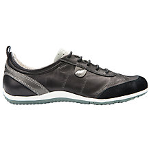Buy Geox Vega Leather Lace Up Trainers Online at johnlewis.com