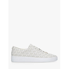 Buy MICHAEL Michael Kors Keaton Flat Lace Up Trainers Online at johnlewis.com