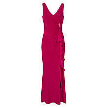 Buy Lauren Ralph Lauren Chelo Dress, Venetian Rose Online at johnlewis.com