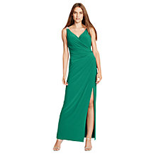 Buy Lauren Ralph Lauren Lajos Dress, Goddess Green Online at johnlewis.com
