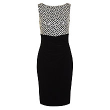 Buy Lauren Ralph Lauren Edlisa Dress, Black Online at johnlewis.com