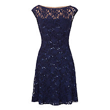 Buy Lauren Ralph Lauren Malika Dress, Lighthouse Navy Online at johnlewis.com