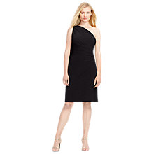 Buy Lauren Ralph Lauren Lavelle Dress, Black Online at johnlewis.com