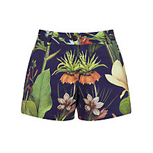 Buy Penfield Turor Botanical Shorts, Navy Online at johnlewis.com
