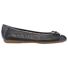 Buy Geox Lola Bow Laser Cut Flat Pumps Online at johnlewis.com