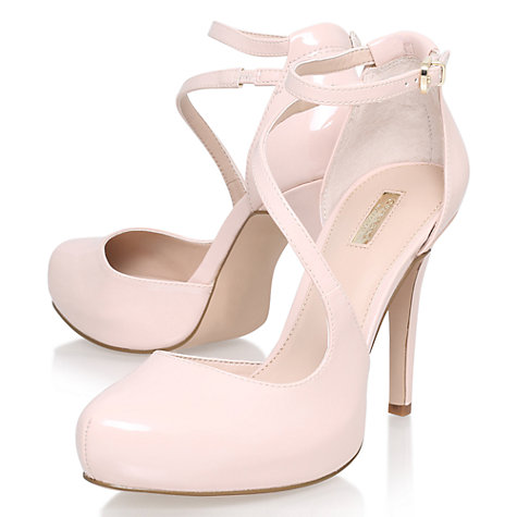 buy carvela antler asymmetric court shoes pale pink