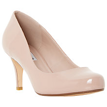 Buy Dune Amelia Court Heels, Blush Online at johnlewis.com