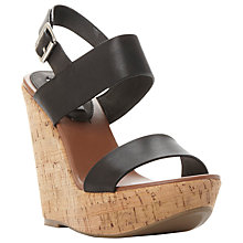 Buy Steve Madden Esme Platform Wedge Heeled Sandals Online at johnlewis.com