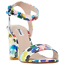 Buy Dune Melrose Bubble Print Two Part Sandals, Multi Online at johnlewis.com