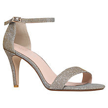 Buy Carvela Kiwi Barely There High Heel Sandals, Bronze Online at johnlewis.com