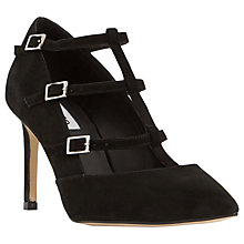 Buy Dune Ashlea Cross Strap Stiletto Court Shoes Online at johnlewis.com