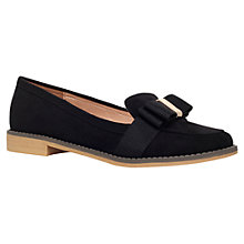 Buy Miss KG Marcie Low Heeled Bow Detail Loafers, Black Online at johnlewis.com