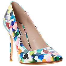Buy Dune Blosome Stiletto Heeled Court Shoes, Multi Online at johnlewis.com