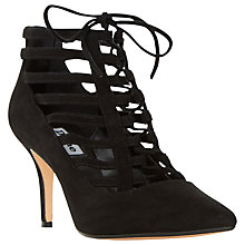 Buy Dune Amma Lace Up Stiletto Shoe Boots Online at johnlewis.com