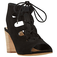 Buy Dune Jamima Block Heeled Lace Up Sandals Online at johnlewis.com