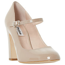 Buy Dune Audrie High Block Heeled Mary Jane Court Shoes Online at johnlewis.com