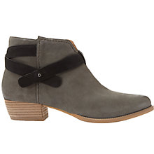 Buy Mint Velvet Cassie Ankle Boots, Mink Online at johnlewis.com