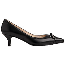 Buy L.K. Bennett Clara Kitten Heeled Court Shoes Online at johnlewis.com