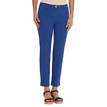 Buy Betty Barclay Sally Four Pocket Cropped Jeans, Electric Blue Online at johnlewis.com