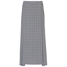 Buy Betty Barclay Printed Maxi Skirt, Dark Blue/White Online at johnlewis.com
