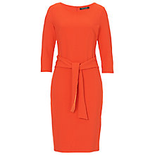 Buy Betty Barclay Textured Jersey Dress, Dark Orange Online at johnlewis.com