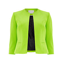 Buy Windsmoor Edge To Edge Jacket, Bright Green Online at johnlewis.com