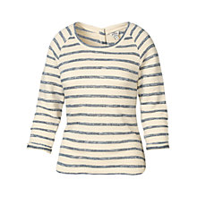 Buy Fat Face Orla Button Back Top Online at johnlewis.com