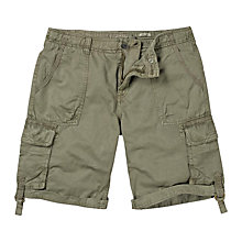 Buy Fat Face Washed Utility Shorts Online at johnlewis.com