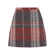 Buy Oasis Check Boucle Skirt, Multi Online at johnlewis.com