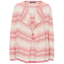 Buy Betty Barclay Candy Stripe Cardigan, Pink/Beige Online at johnlewis.com