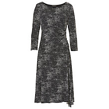 Buy Betty Barclay Polka Dot Print Dress, Black/White Online at johnlewis.com