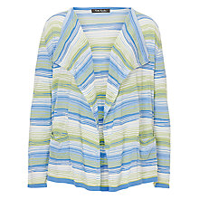 Buy Betty Barclay Candy Striped Cardigan, Blue/Green Online at johnlewis.com