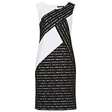 Buy Betty Barclay Lace Dress, Black/White Online at johnlewis.com