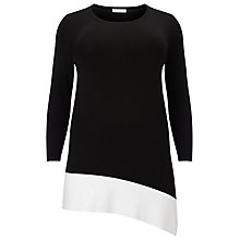 Buy Windsmoor Colour Block Jumper, Black/White Online at johnlewis.com