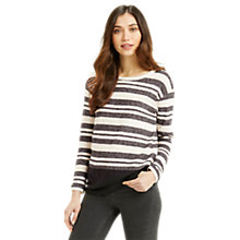 Buy Oasis Bon Bon Stripe Jumper, Multi Online at johnlewis.com