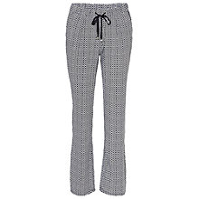 Buy Betty Barclay Loose Printed Trousers, Dark Blue/White Online at johnlewis.com