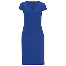 Buy Betty Barclay V-Neck Dress, Electric Blue Online at johnlewis.com