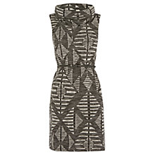 Buy Oasis Chevron Cut and Sew Tunic, Multi Online at johnlewis.com