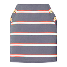 Buy Oasis A-Line Button Skirt, Multi Online at johnlewis.com