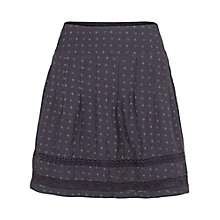 Buy Fat Face Matilda Juniper Skirt, Phantom Online at johnlewis.com