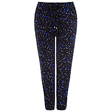 Buy Windsmoor Abstract Print Jersey Trousers, Blue/Multi Online at johnlewis.com