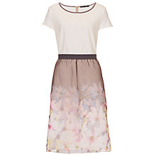 Buy Betty Barclay Layered Jersey Dress, Multi Online at johnlewis.com